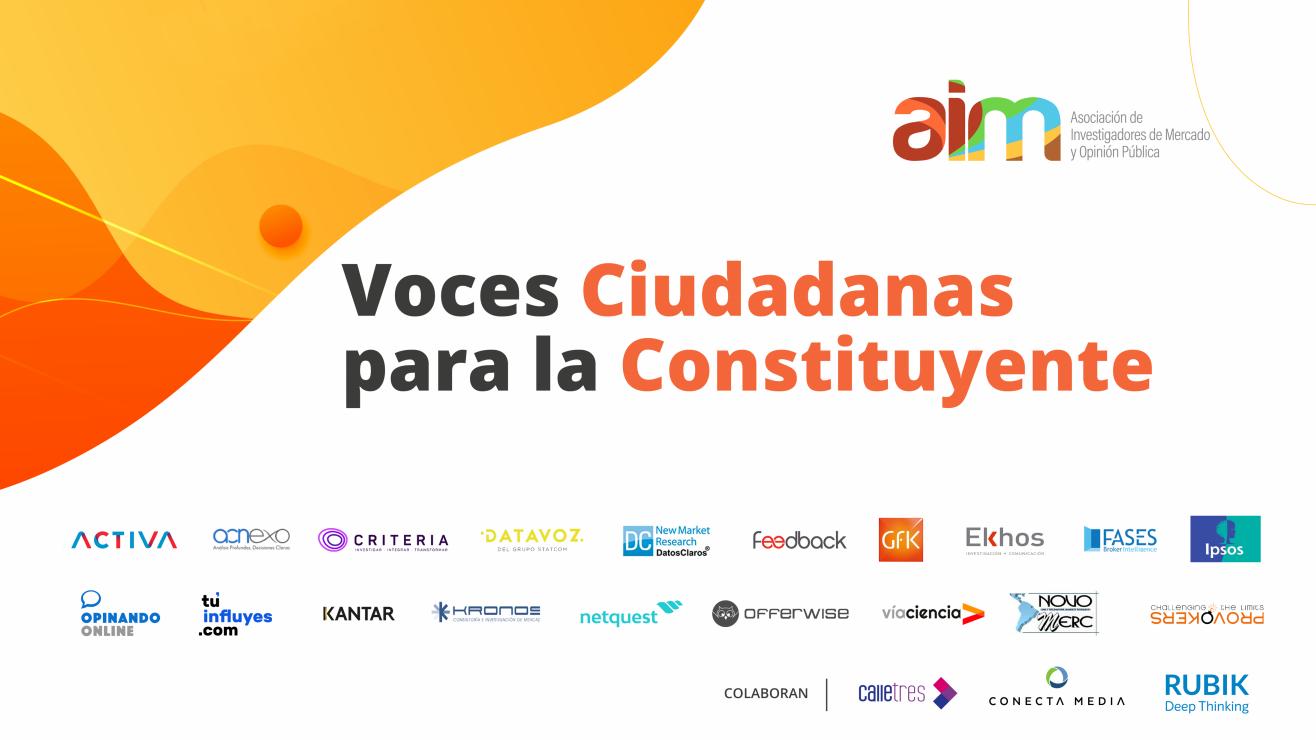 Estudio Voces Ciudadanas para la Constituyente, abril 2021